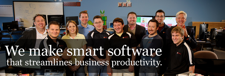 We make smart software that streamlines business productivity.